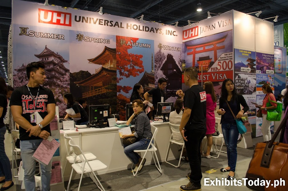 Universal Holidays Inc. Exhibit Booth